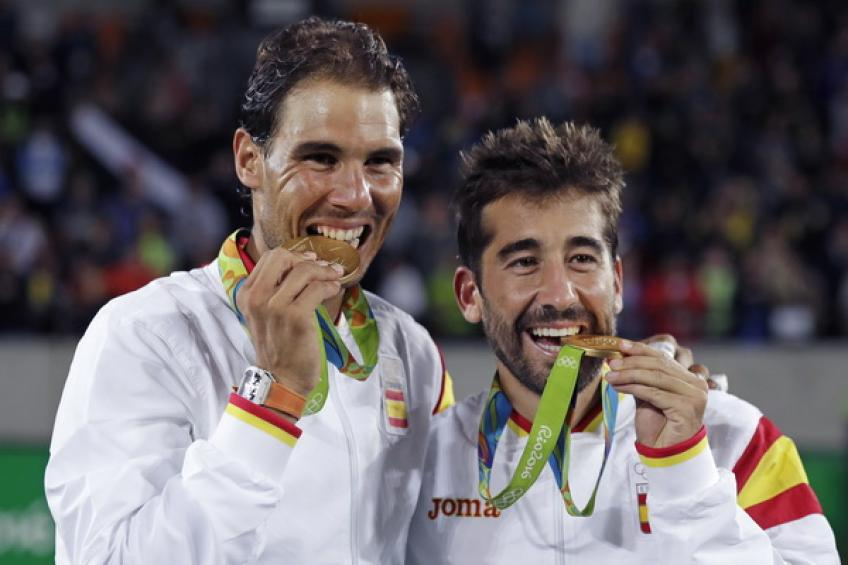 Rafael Nadal: 'It was special to win gold medal after being sidelined for so long'