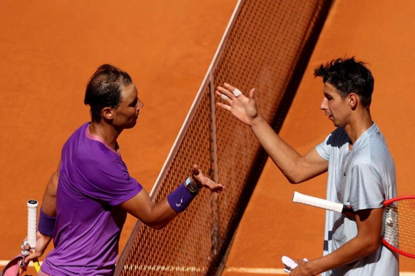 'Rafael Nadal didn't do much, I gifted him the victory,' says Alexei Popyrin
