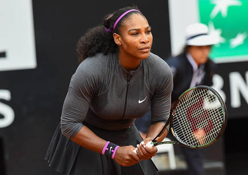 "Serena Williams: ""The Roland Garros? Now I focus only for Rome"""