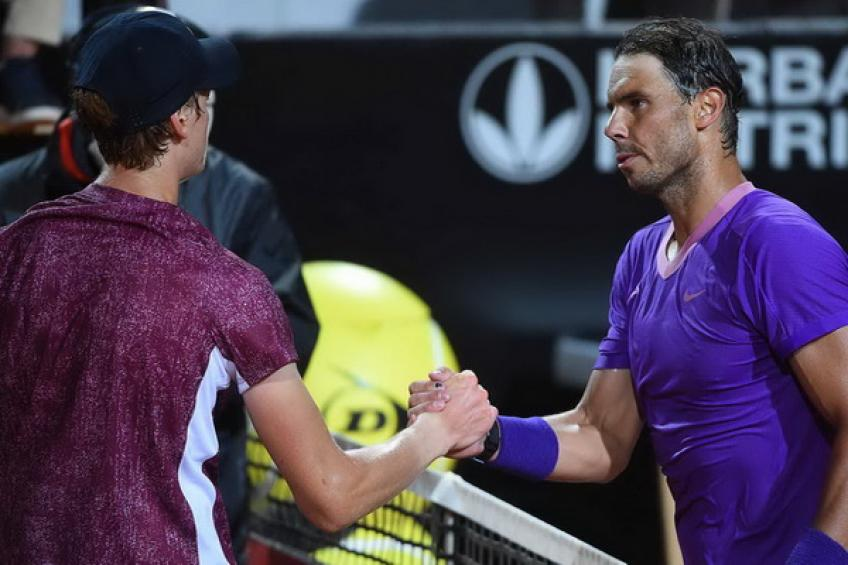'Rafael Nadal beat me, and I had to do better than at Roland Garros' says Sinner