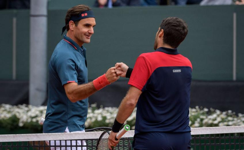 Pablo Andujar on Roger Federer: To my eyes, he is a myth