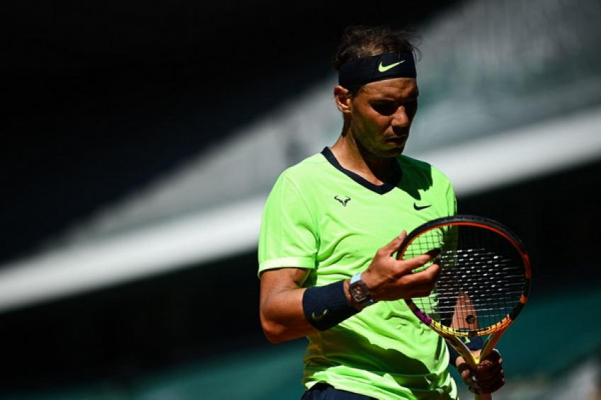 Rafael Nadal admits: 'I was lucky in the third set, I don't know how I stole it'