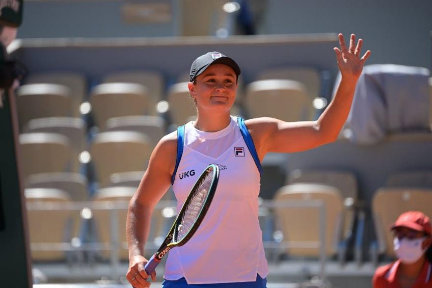 """Ashleigh Barty in tears: """"I've been crying a lot this week"""""""