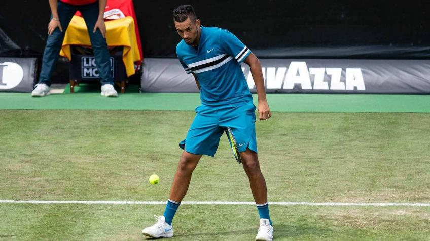 Nick Kyrgios announces withdrawal from Stuttgart