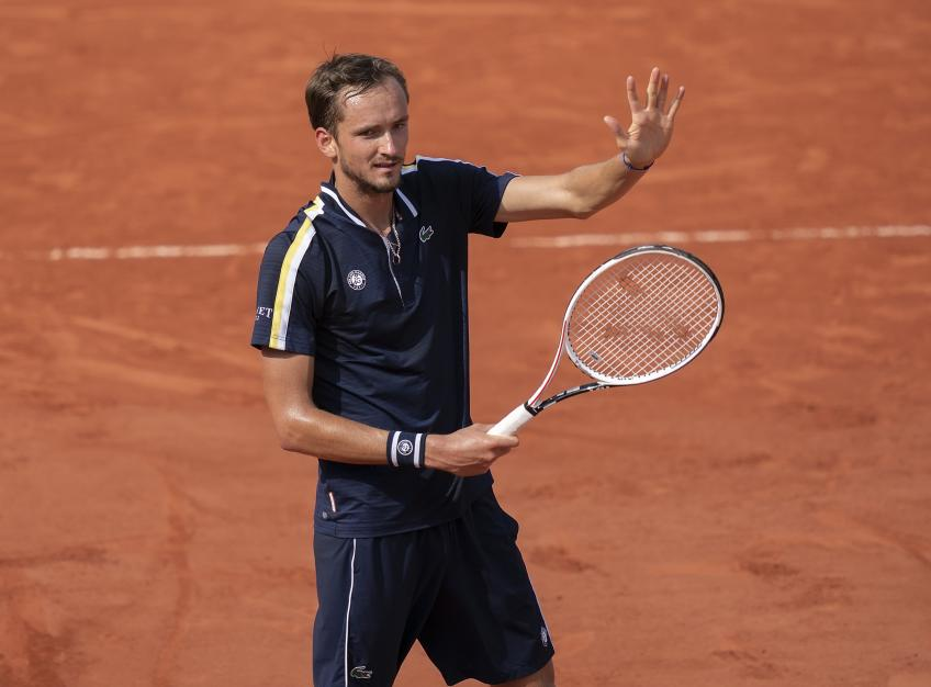 Daniil Medvedev's coach Gilles Cervara: We didn't know what to expect at French Open