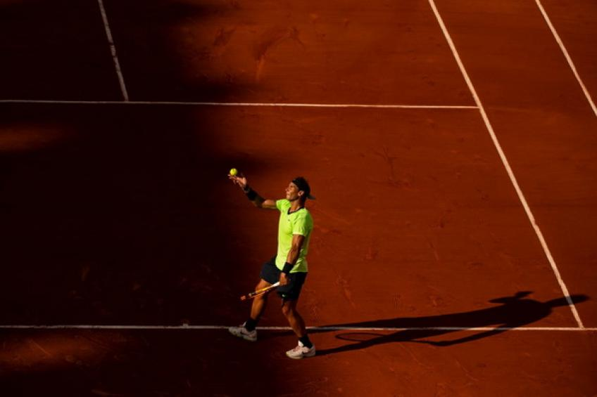 Rafael Nadal: 'I have to improve my second serve, and I'm not happy with..'