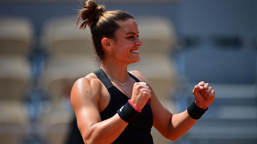 """Maria Sakkari: """"I thought I had a limit but I exceeded it!"""""""