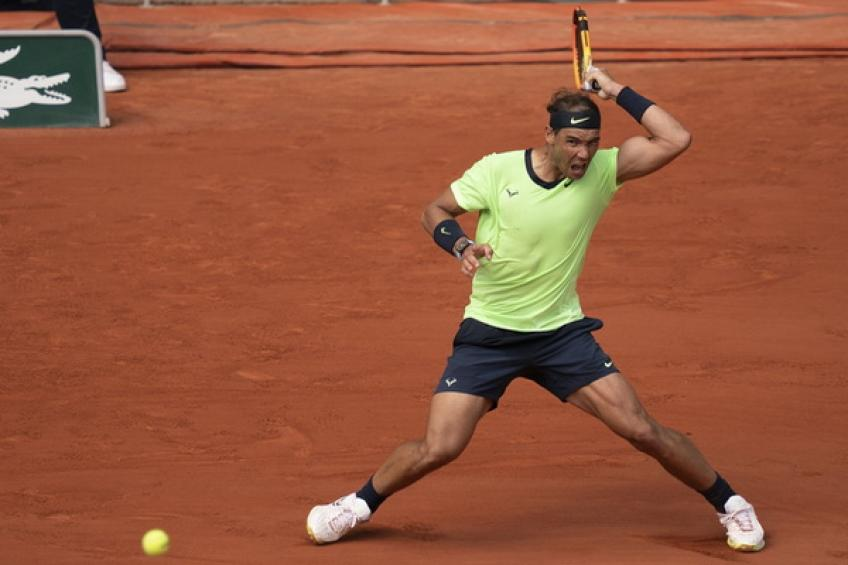 Rafael Nadal follows Roger Federer and Andre Agassi on a Major record