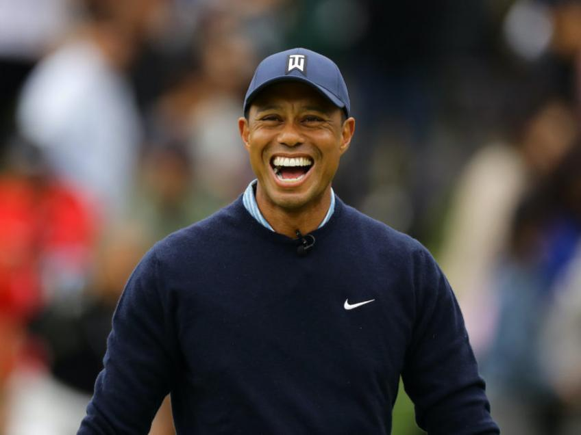 Tiger Woods, a special tribute at the Us Open
