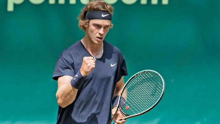 Andrey Rublev 'thrilled' after making maiden Halle semifinal
