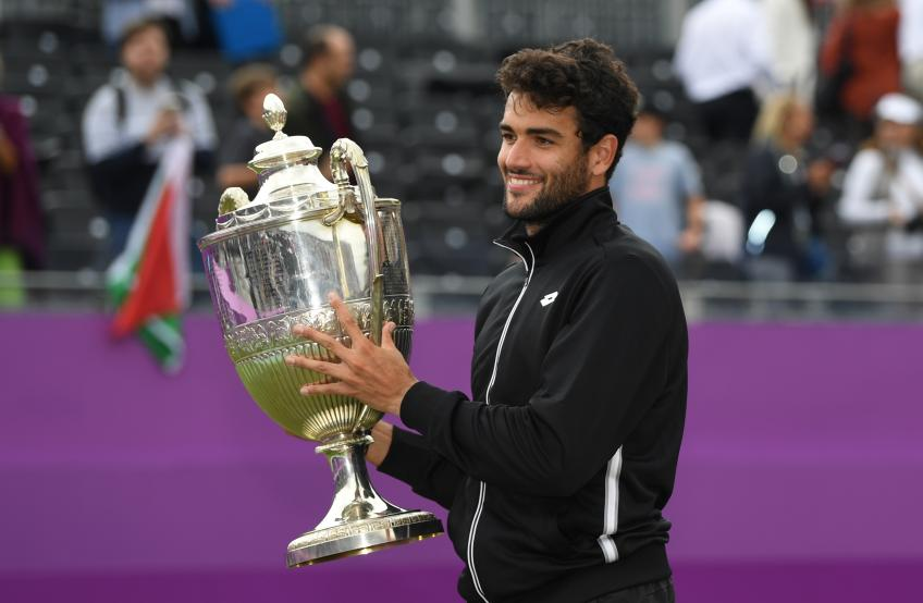 Matteo Berrettini: I watched Queen's as a kid, winning it was a dream come true