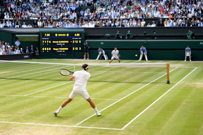 Wimbledon: record broken and incredible numbers