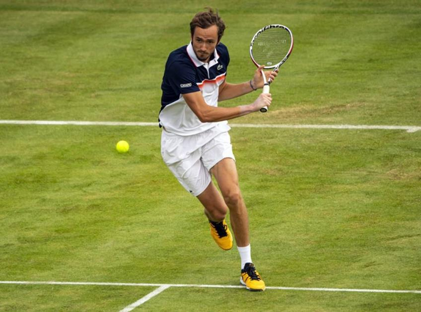 Daniil Medvedev: I like to play on grass but I need some confidence on surface
