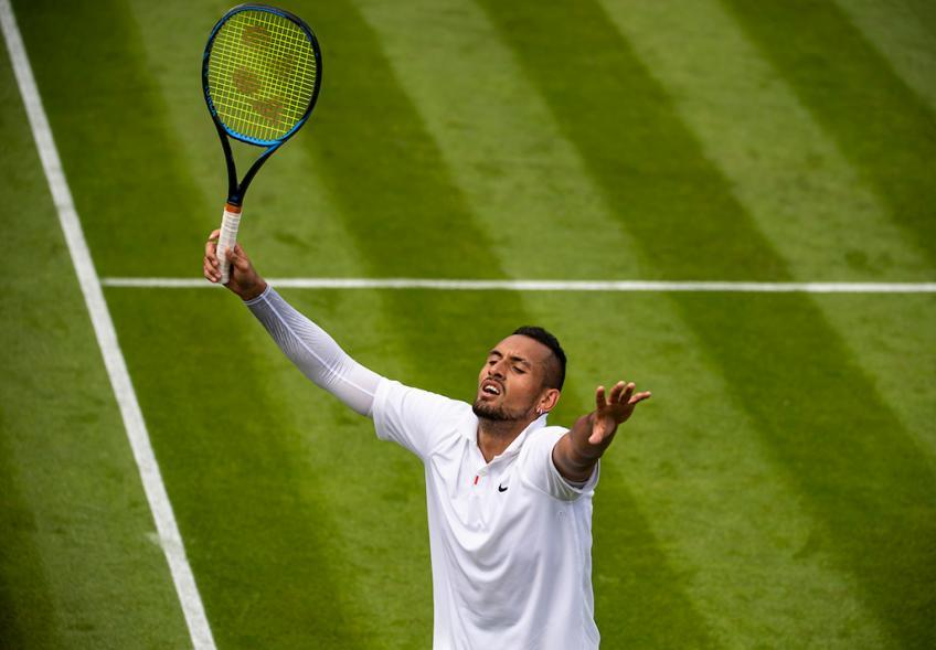 Nick Kyrgios: I know no one wanted to play me in Wimbledon first round