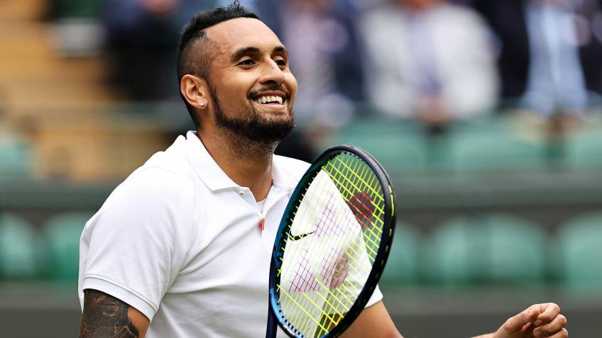 """Nick Kyrgios: """"Roger Federer, Nadal and Djokovic can't live without tennis, I can"""""""
