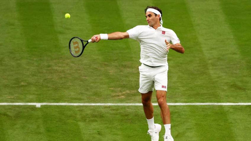 'You could see in the first match vs. Mannarino, when Roger Federer...', says legend