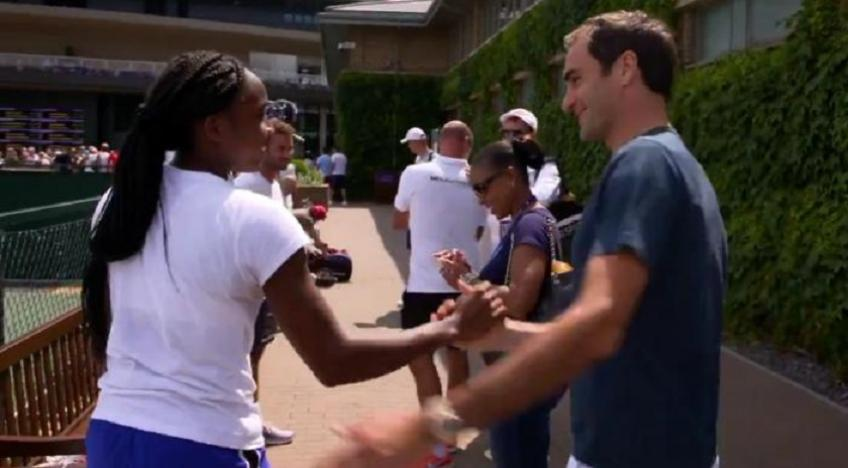 """Cori Gauff: """"Roger Federer has a great influence on me"""""""