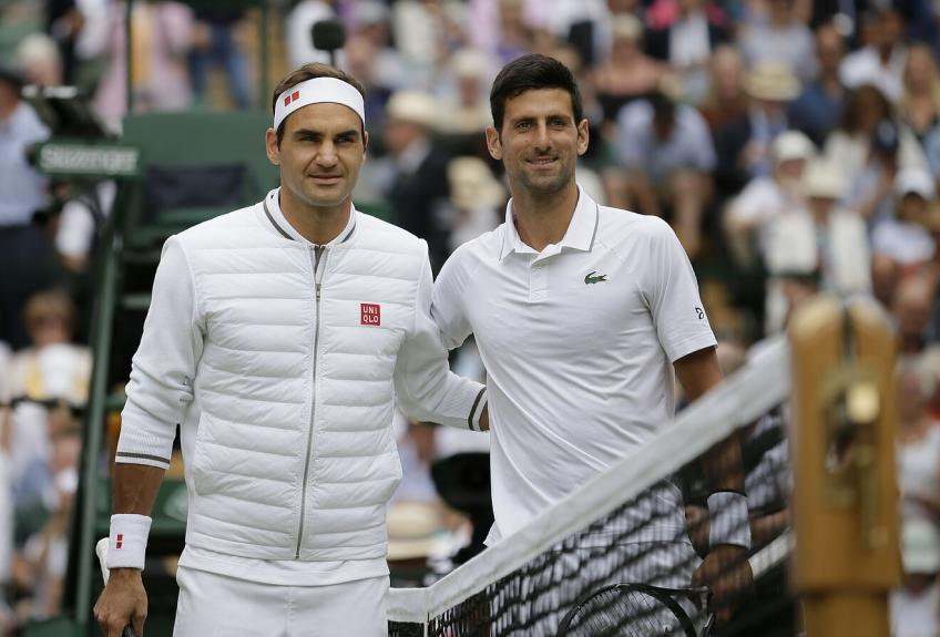 'Roger Federer is the figurehead for tennis, while Novak Djokovic...', says ATP ace