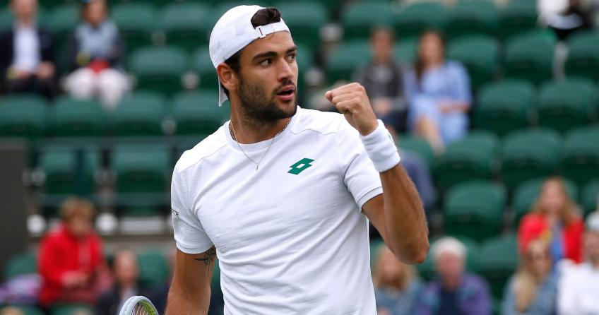 Matteo Berrettini 'lost for words' after reaching Wimbledon final