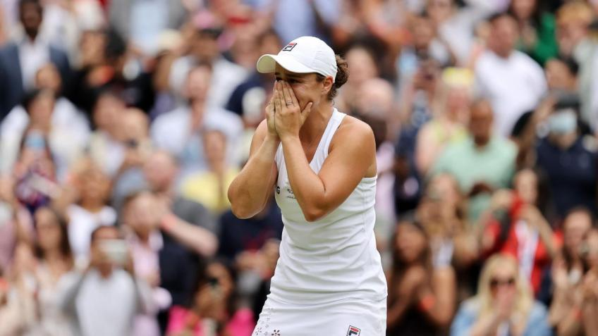 """Ashleigh Barty: """"It was the most incredible moment on a tennis court"""""""