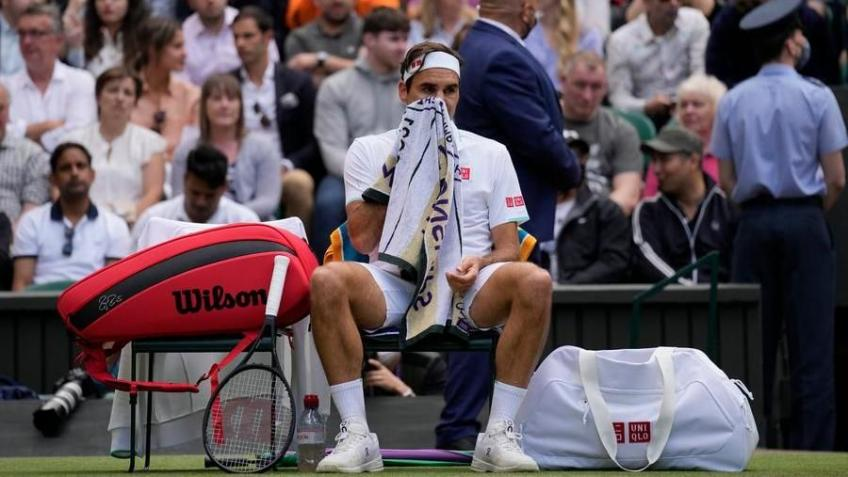'I have the feeling that Roger Federer will not be back at Wimbledon', says legend