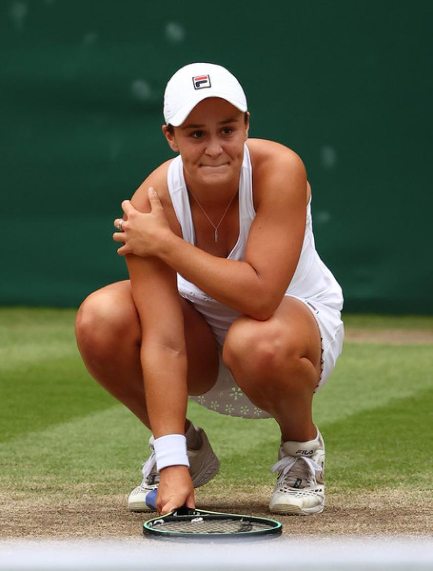 Are there more parties in store for Ashleigh Barty?