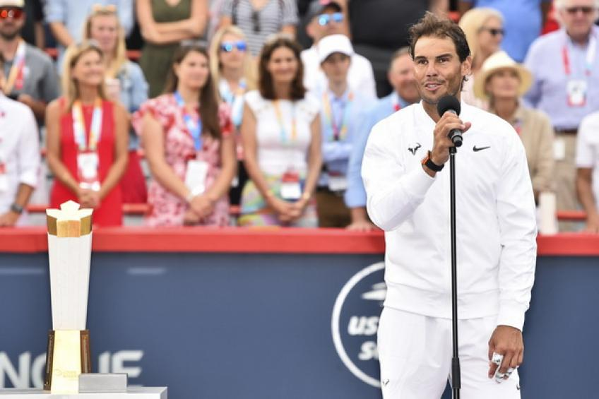 Rafael Nadal: 'I'm thrilled to play in Toronto again, and would love to defend title'