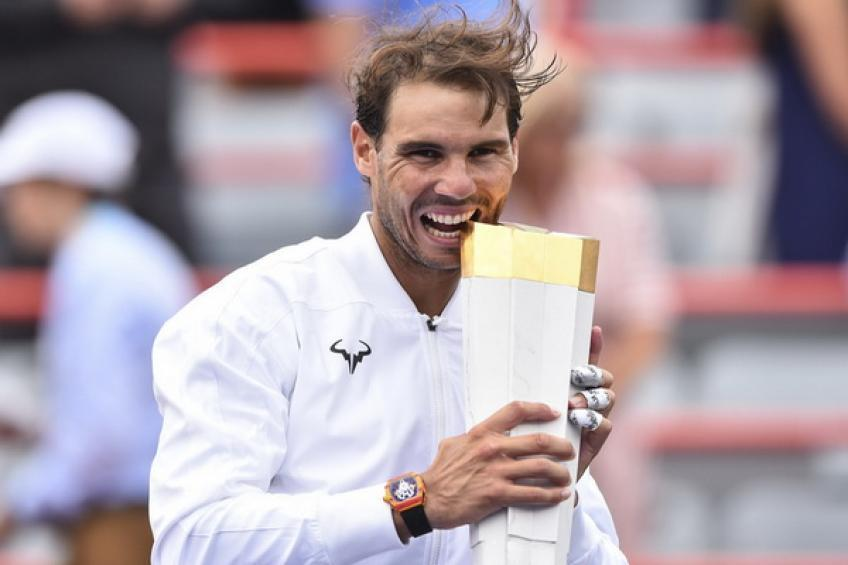 'If Rafael Nadal was the youngest...', says American star