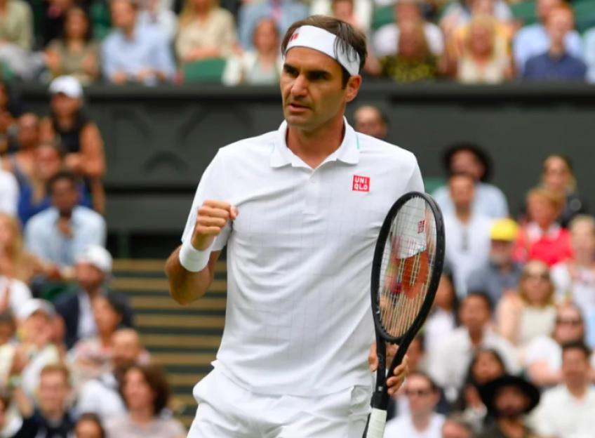 'There is a hesitancy on my part to suggest what Roger Federer...', says legend