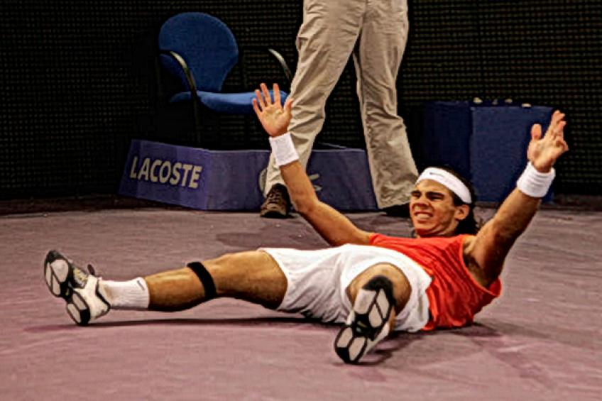 Rafael Nadal: 'I never came from two sets to love down before'