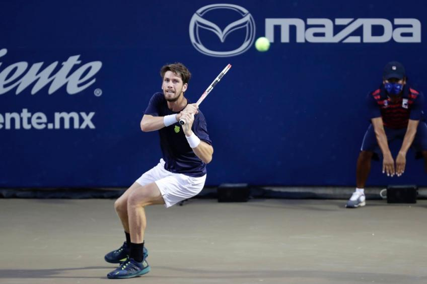 Cameron Norrie reacts to demolishing Taylor Fritz in Los Cabos semifinal