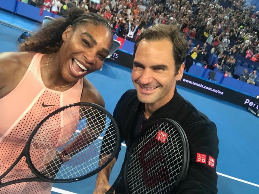 Badminton ace pays tribute to Roger Federer and Serena Williams