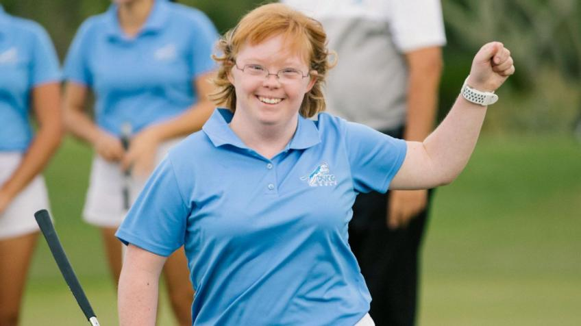 """Amy Bockerstette: """"I loved my first tee shot"""""""