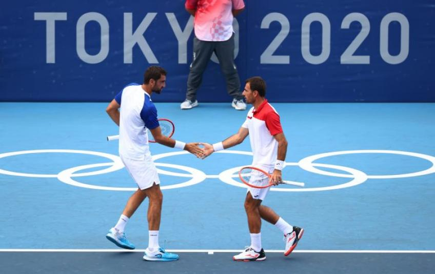 Marin Cilic 'extremely proud' despite failing to win gold medal at Tokyo Olympics