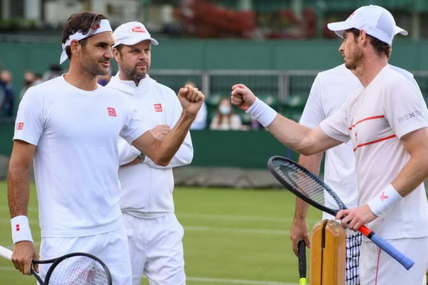 Roger Federer: 'Andy Murray and I haven't practiced for 15 years'