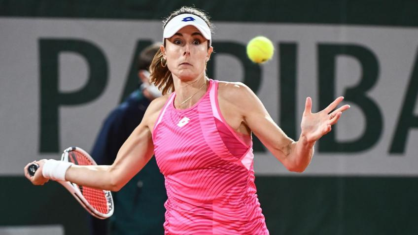 Alizé Cornet insulted by the haters: here is her answer
