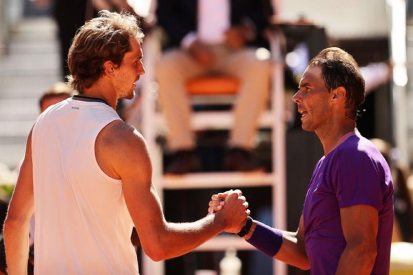 'To beat Rafael Nadal on clay, you have to be aggressive and chase..,' says Zverev