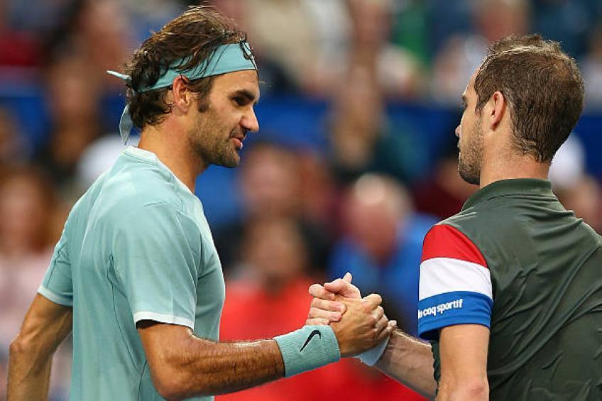 Richard Gasquet: Roger Federer is irreplaceable in terms of aesthetics, personality