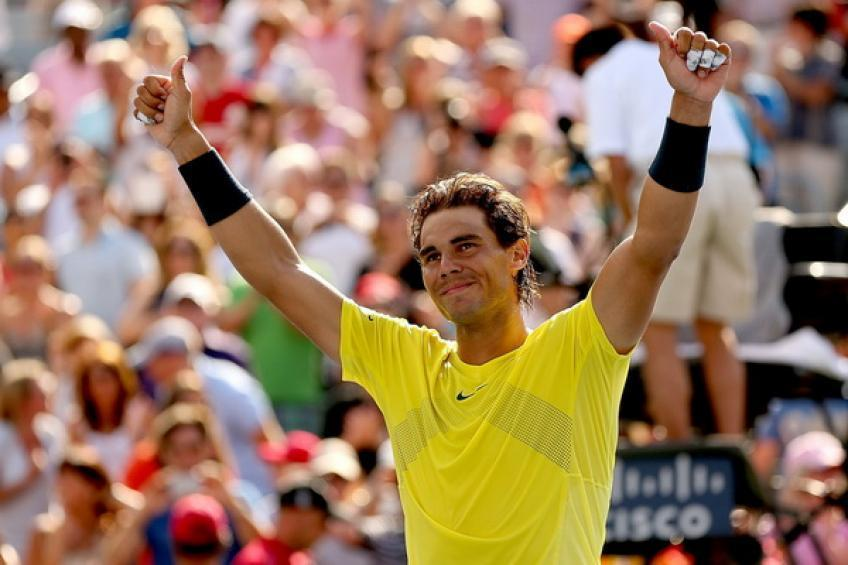 'Rafael Nadal is the greatest ever', says American star