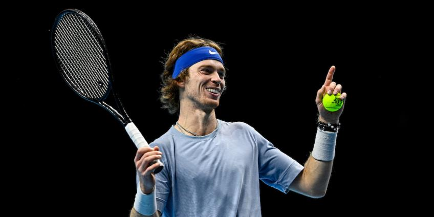 Andrey Rublev: It's impossible to play short rallies with Gael Monfils