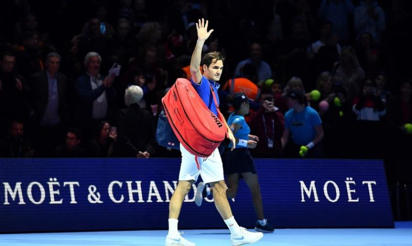 'It felt really like Roger Federer was there', says WTA star