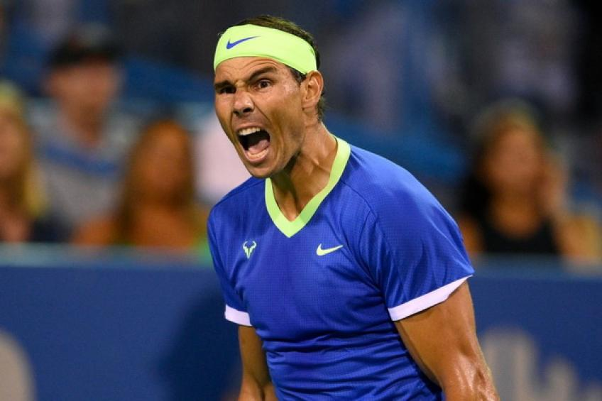 Rafael Nadal always tries, but he can not compete
