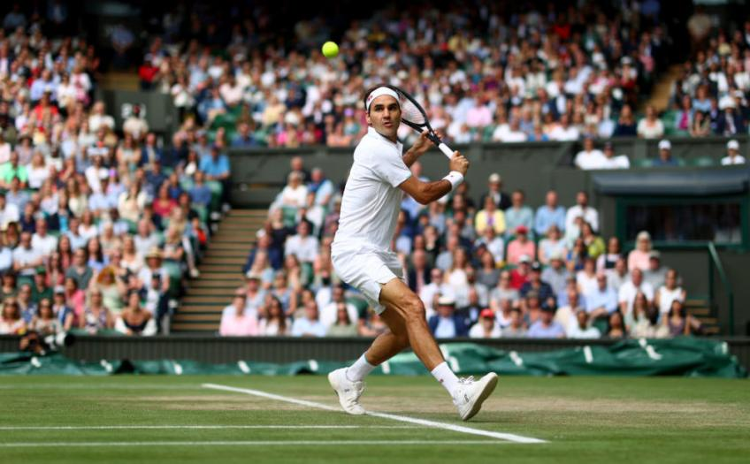 'There is no doubt that Roger Federer is the most...', says former ace