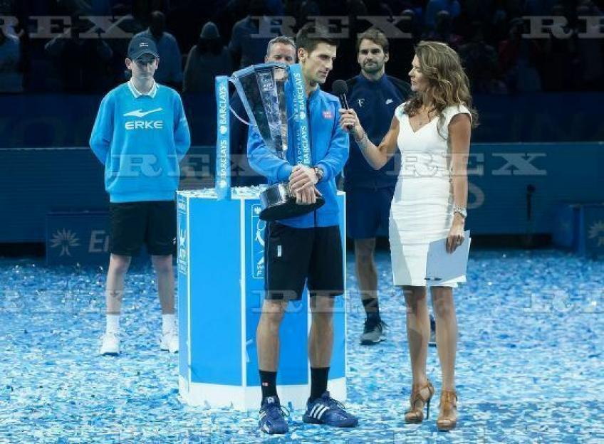 Annabel Croft: Novak Djokovic is so intellectual and interesting to speak with