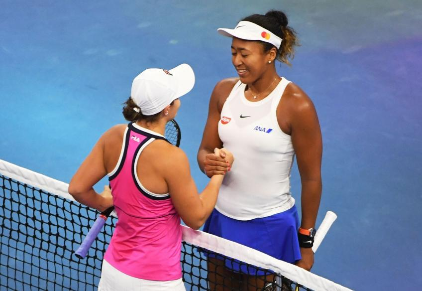 Ashleigh Barty explains what makes Naomi Osaka such a dangerous opponent