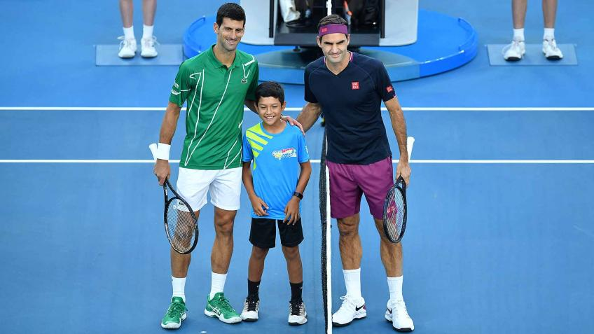 'You can see how Roger Federer moves and...', says Grand Slam champion