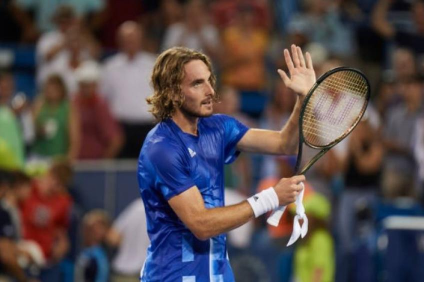Stefanos Tsitsipas responds to being accused of cheating by Alexander Zverev