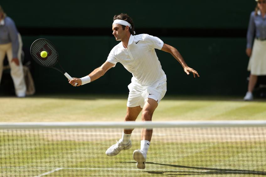 Roger Federer: 'I think the best defense is going into...'