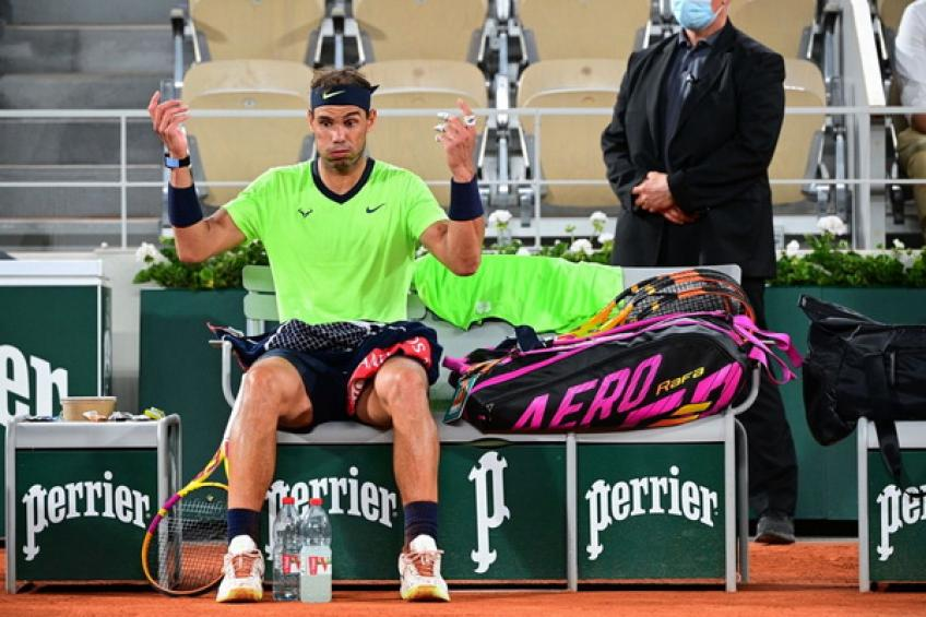 Rafael Nadal drops out from top-5 for the first time since April 2017