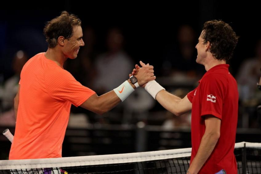 'Rafael Nadal is one of the GOATs, sharing court with him is an honor,' says Thiem